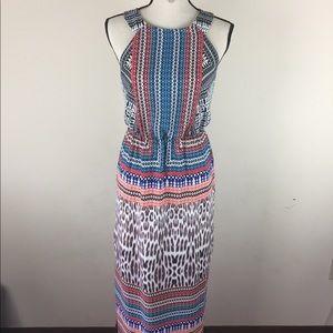 Sangria Maxi Summer Dress